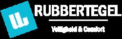 Uw Rubbertegel - Header Blauw Wit Transparant