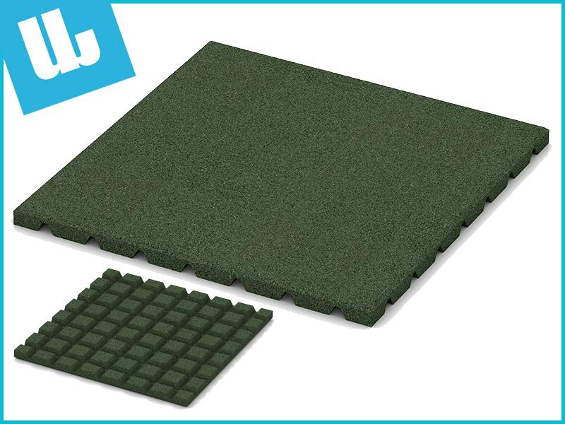 Speelplaats 50x50x2,5 cm Groen