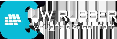 Logo - Uw Rubber - Omgekeerd